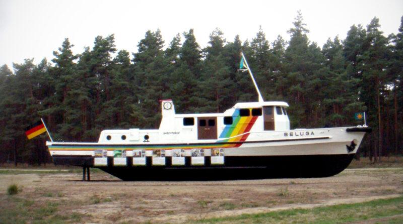 Gorleben » Greenpeace Ship Beluga