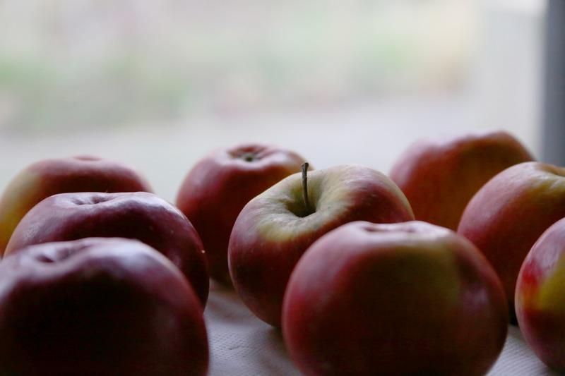 Apples Fruits Christmas
