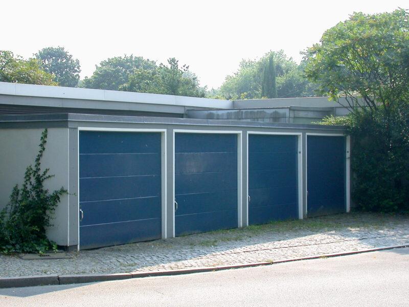 Arne Jacobsen Garages, Berlin Hansaviertel