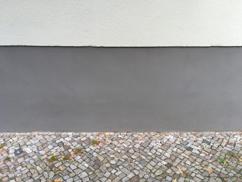 A different kind of Berlin Wall