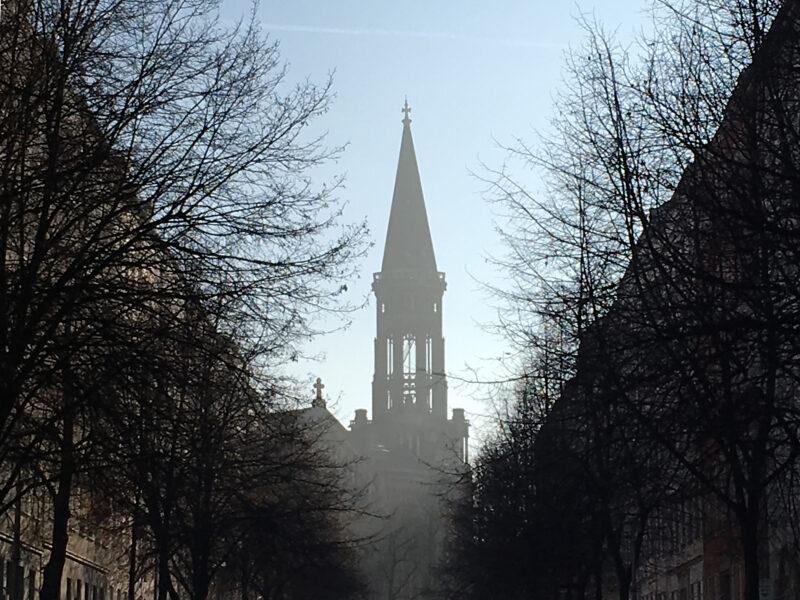 Bell Tower Zionkirche Berlin Mitte