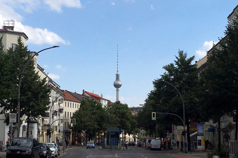 Berlin TV Tower Brunnenstrasse