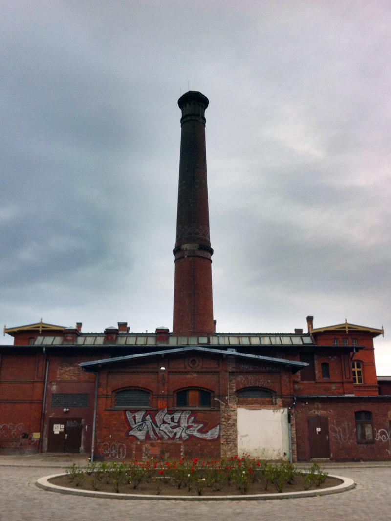 Chimney at Fröbelstrasse, Berlin Prenzlauer Berg