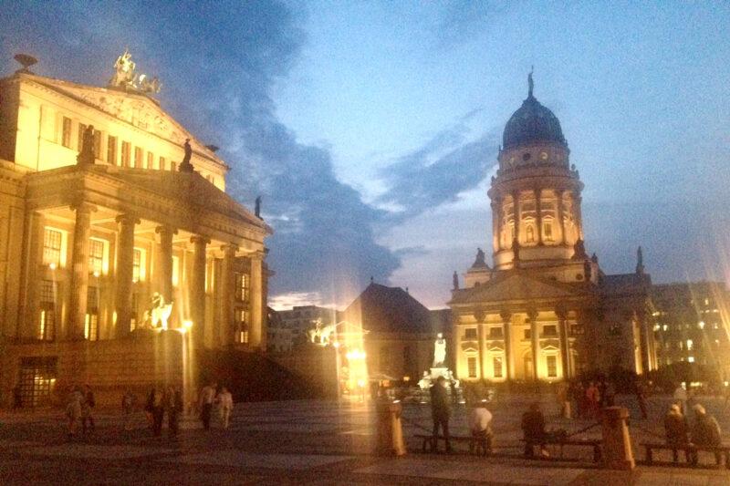 Berlin Gendarmenmarkt by Night