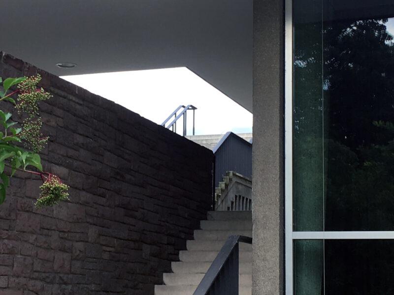 Details outside HKW Haus der Kulturen der Welt Berlin