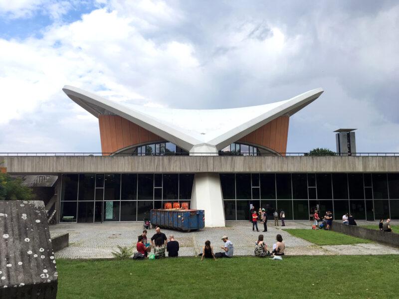Berlin: Backside of HKW Haus der Kulturen der Welt