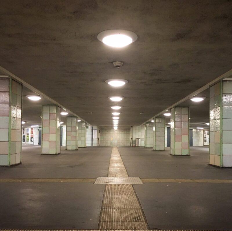 Berlin Moritzplatz U-bahn station