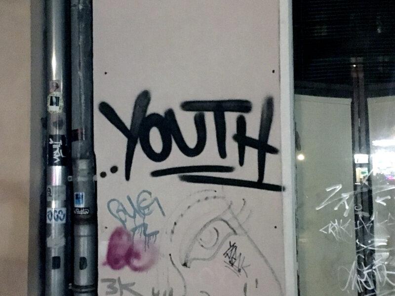 Berlin Streetart: Youth