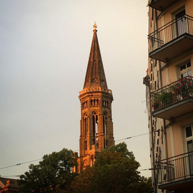 Berlin Sunset Zionskirche