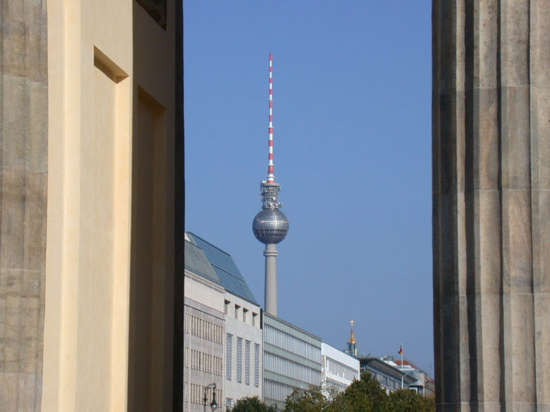 Brandenburg Gate / TV Tower