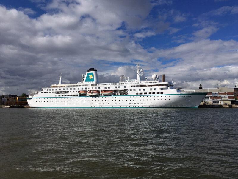 Cruise Ship Deutschland in Helsinki