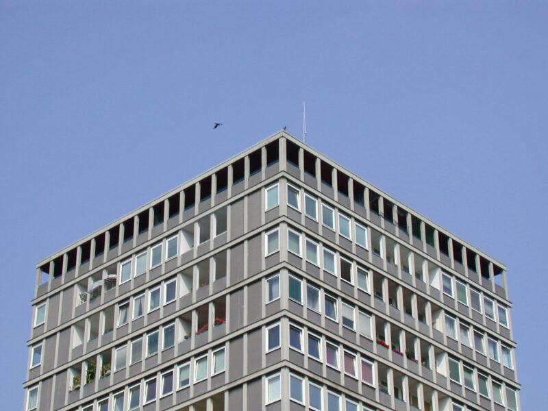 Hansavierteil apartment building Hassenpflug