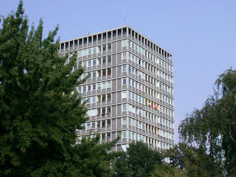 Hansaviertel Gustav Hassenpflug apartment building