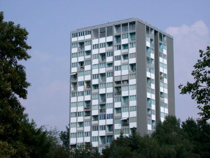 Raymond Lopez, Eugene Beaudouin - Hansaviertel apartment building