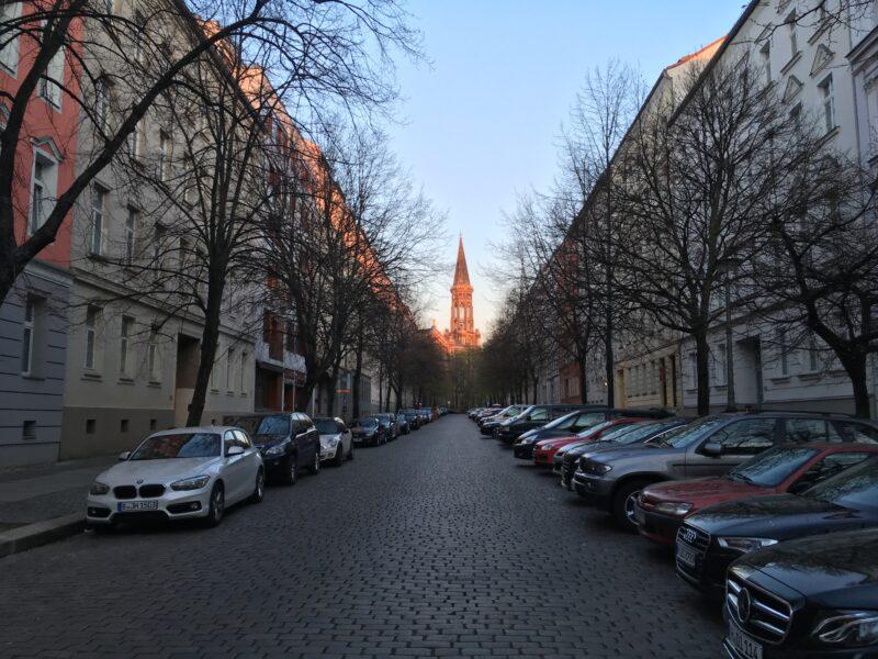 Zionskirche Evening Sun