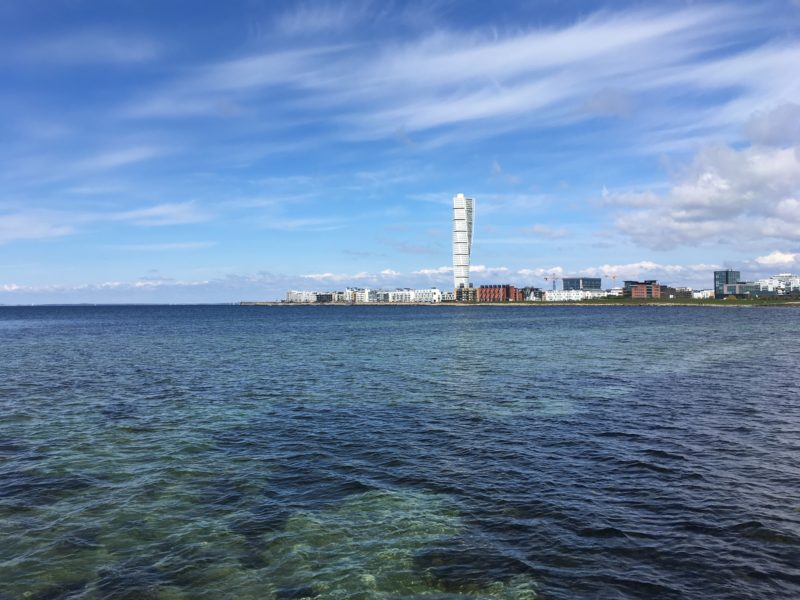 Turning Torso by the Sea, Malmö