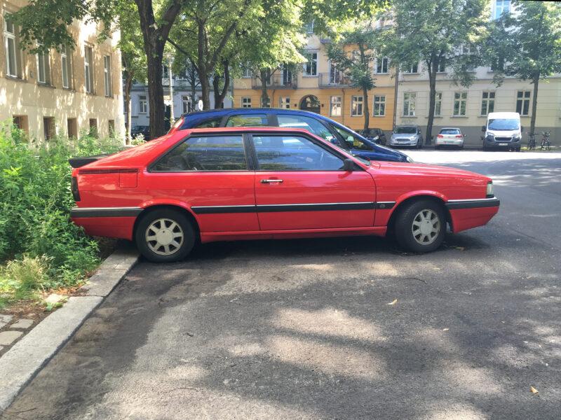 Red Audi Quatrro (1982–1984)
