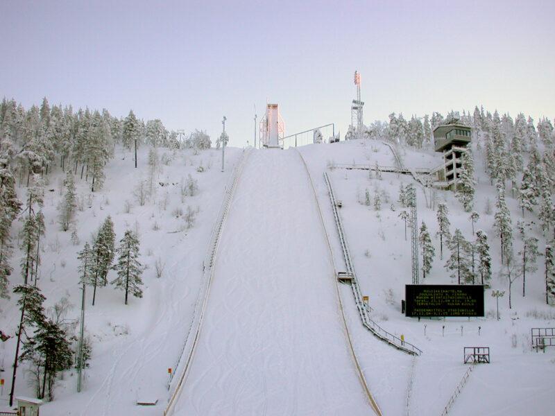 Ski Jumping Hill Rukatunturi, Finland
