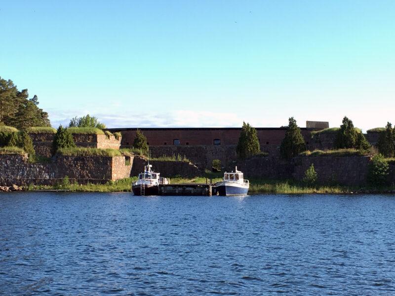 Svartholma Sea Fortress - Boats