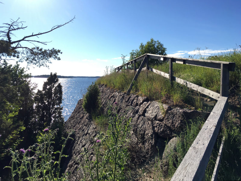 Svartholma Sea Fortress View to the Sea