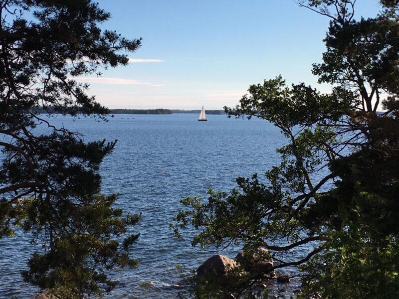 Svartholma Sea Fortress Sailboat