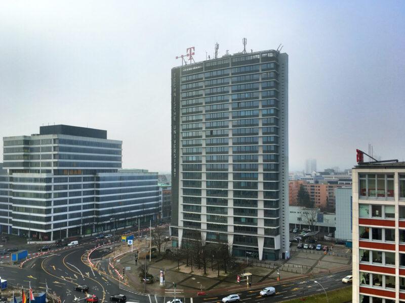 Telefunken hochhaus building Berlin