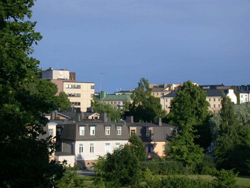 Helsinki Vallila Umgebung